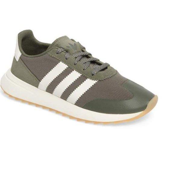 Adidas Flashback Sneaker Green US size 8